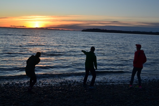 Birch Bay Sunset.